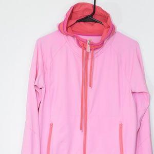 Alo Yoga Pink Hoodie Jacket